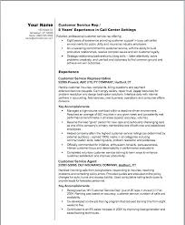 Customer Resume Examples Example Customer Service Representative
