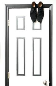 paint for door frames love the black white painted door frame image from the