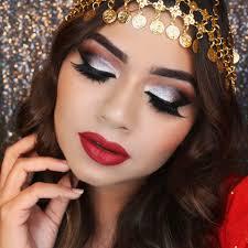 arabic inspired makeup look