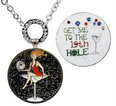 ball markers. glitzy golfaholic ball marker \u0026 get me to the 19th hole ballmarker with magnetic markers r