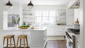 You may be willing to commit to a rigorous cleaning schedule around the  clock now, but are you really going to stick to it in the future? All-white  cabinets ...