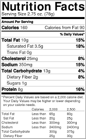 doritos cool ranch nutrition facts for kids nutrition facts png 662x1056 png