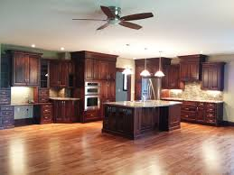 traditional open kitchen designs. Large Open Concept Cherry Kitchen Traditional-kitchen Traditional Designs D