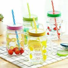 Decorative Mason Jar Lids Metal Decorative Regular Mouth Mason Jar Lids with Straw Hole 82