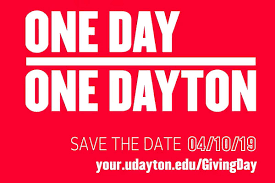 Giving Day 1day1dayton University Of Dayton To Launch First Giving Day