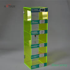 Cell Phone Accessories Display Stand 100 Tiers Acrylic Cell Phone Accessory Display Stand 71