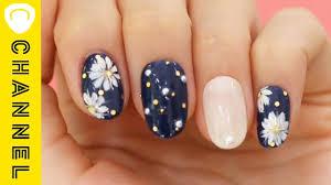 春の花柄はコレマーガレットネイル Margaret Nail Youtube