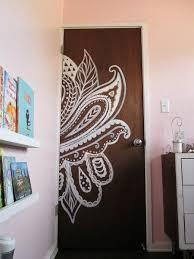 door painting designs. Simple Door Lace Inspired Door Doors Painting And Door Painting Designs