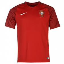 Jersey Shirt Portugal Home 2016 Red