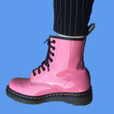 Light Pink Doc Martens Light Baby Pink Dr Martens Doc Martens Leather Depop