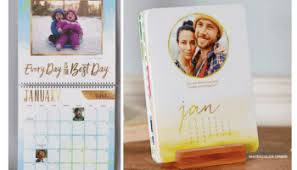 8x11 Calendar Shutterfly Free Personalized 8x11 Or 5x7 Easel Calendars