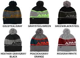 Under Armour Color Chart Under Armour Pom Senior Beanie