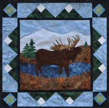 quilt forest patterns | The Rushin' Tailor : Moose in the Marsh ... & Moose · quilt forest patterns ... Adamdwight.com