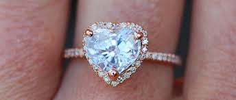 Vending Machine Engagement Ring Cool The Cutest HeartShaped Engagement Rings For VDay BridalPulse