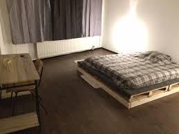 king size pallet bed 27 diys to make bed frames out of pallets guide patterns