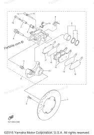 Yamaha motorcycle 2006 oem parts diagram for rear brake caliper rh partzilla bmw s1000rr kawasaki ninja