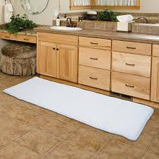 kitchen and bath rugs memory foam 24 x 60 extra long bath rug mat kitchen