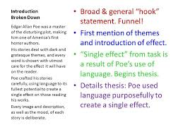 essay breakdown the task poe essay mood is defined as the feeling  3 introduction