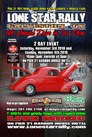 Drive In Car Show - Lone Star Rally