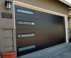 Modern garage door Wood Modern Garage Doors The Creativity Exchange Garage Door Vulcan Garage Services
