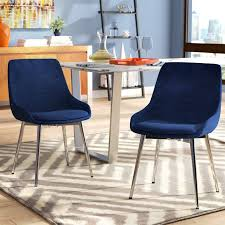 modern upholstered dining chairs cortes upholstered dining chair