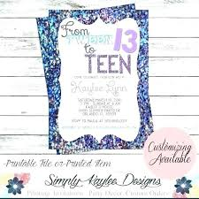 children party invitation templates teenage party invitation templates pink gold glitter birthday