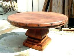 rustic dining table with leaves rustic round dining table rustic round kitchen table elegant round round