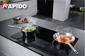 Bếp từ đôi Rapido RI4000BN (Điều khiển số)