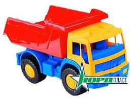 <b>Машина</b> арт. 058 <b>грузовик Зубр Нордпласт</b>