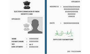 how to change your address on voter id