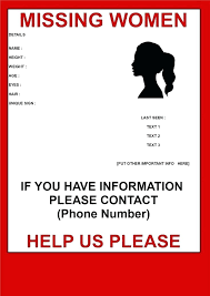 Missing Person Poster Template Classy Missing Person Ad Template Missing Person Poster Template Bid Free C