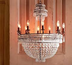pottery barn chandelier crystal chandelier pottery barn graham chandelier installation instructions