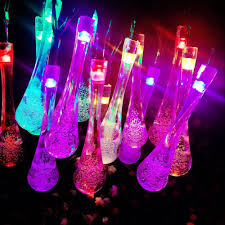 Elegant Solar Lights Us 8 19 25 Off Bubble Drop Shape Led Solar Light String Outdoor Waterproof Holiday Supplies Romantic Wedding Elegant Girl Heart In Lighting Strings
