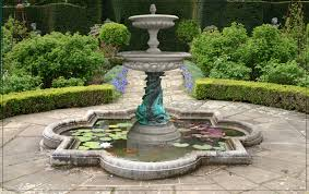 elegant stone outdoor fountains natural stone garden fountains in home design furniture decorating