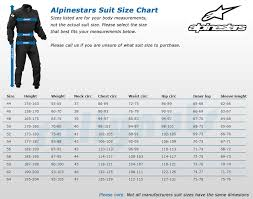 Alpinestars Leather Suit Size Chart Size Guides Rallynuts