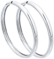 Серебряные <b>серьги кольца</b> конго <b>SOKOLOV</b> 94140011_s ...