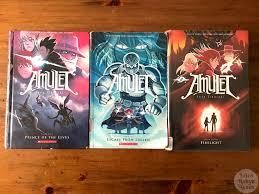 graphic novel mini reviews amulet books 5 6 and 7 by kazu kibuishi