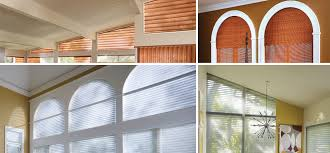 Custom Shades For Arch Windows And Other Specialty Shapes Diy Half Semi Circle Window Blinds
