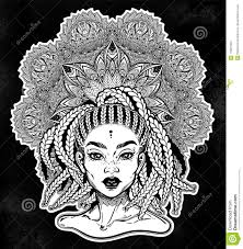 Tribal Fusion Afterican Or African Aberican Diva Beautiful Black