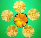 Заготовки для цветов из бумаги своими руками