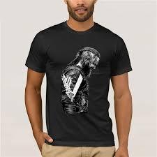 Ragnar T Shirt Design Us 9 59 20 Off T Shirts King Ragnar Lothbrok Vikings Man Organnic 100 Cotton Short Sleeve Tee Shirts Hot Round Collar Man T Shirt Design In