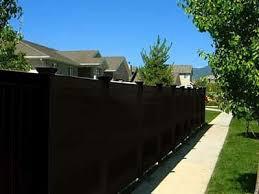 Black Vinyl Fencing Black Vinyl Fences BLACKlinehhp