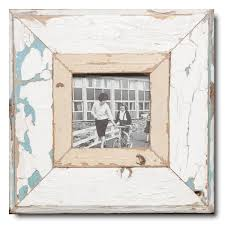 square distressed wooden picture frame for picture size 10 5 x 10 5 cm