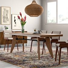Wood Modern Dining Table Design Kai Solid Wood Dining Table