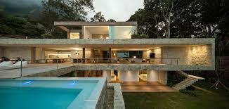 Brazilian Houses Luxurious Modern House In Rio De Janeiro Brazil By Studio Arthur