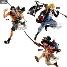 luffy sabo or ace figure three