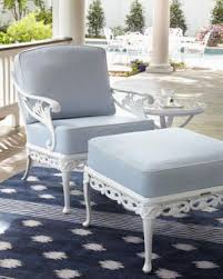 outdoor white furniture. Brown Jordan Day Lily Outdoor Furniture White