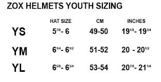 Zox Rush Sharpie Helmet Youth Bto Sports