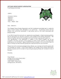 business sponsor letter template. sample sponsorship letter for event cover proposal template