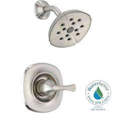bathtub trim kit 1 handle 1 spray shower faucet trim kit only in stainless featuring moen bathtub trim kit